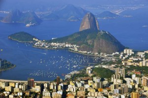Sugar loaf from Cristo Redentor