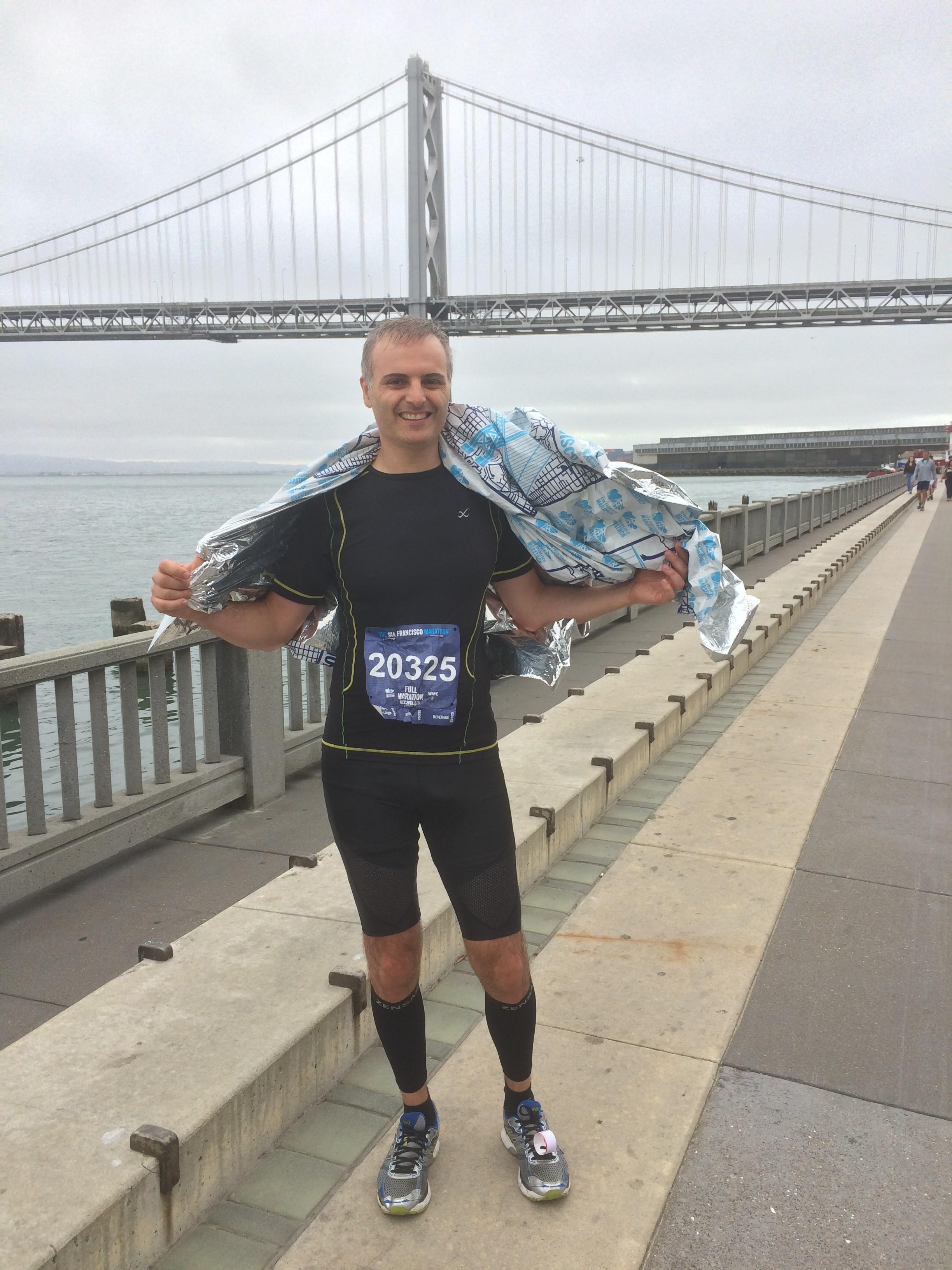 [Episode 6] David Fayon – envoyé spécial depuis la Californie, consultant web et DG de Puzlin : «J'ai couru le mythique marathon de San Francisco !»