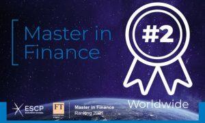 ESCP Business School : son Master in Finance se classe 2ème au niveau mondial dans le Financial Times ! (c) ESCP