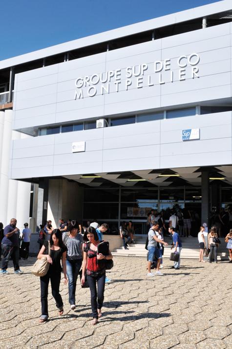 Groupe Sup de Co Montpellier Business School – L'entreprise à tous les stades