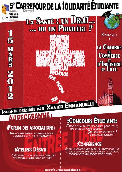 Carrefour de la Solidarité: «La santé: un Droit ou un Privilège ?»