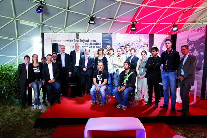 Les étudiants des Ponts ParisTech innovent pour Solidays