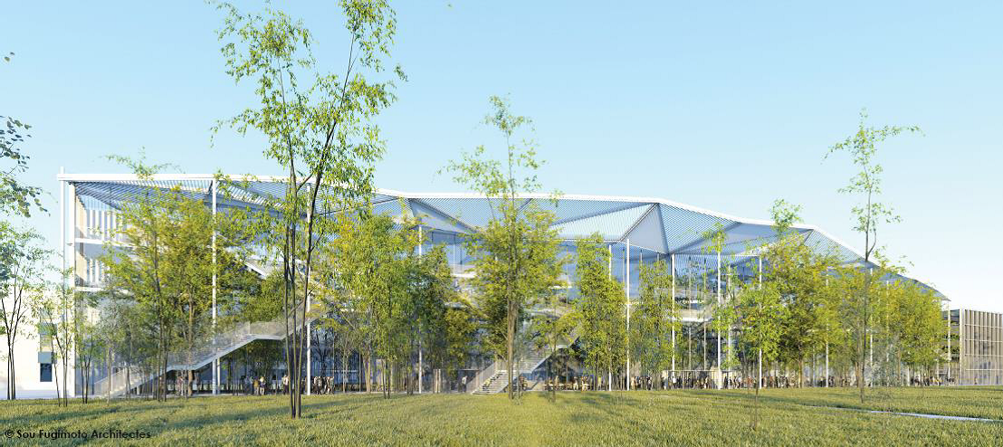 L'architecture moderne au service de l'enseignement avec Sou Fujimoto Architects et l'Ecole Polytechnique