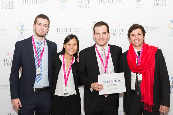 Des élèves de l'X concourent au « Hult prize » soutenu par Bill Clinton