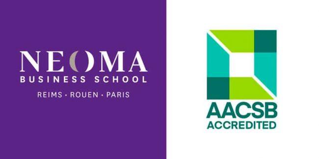 NEOMA Business School obtient la ré-accréditation AACSB pour 5 ans