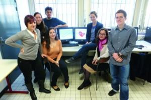 Les membres du projet VPH'eart