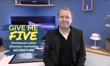 Emmanuel Lalloz – ACCENTURE : «J'ai la passion du client et j'adore mon métier !»