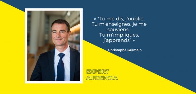 Apprentissage dans l'enseignement : pour Christophe Germain, il faut réaffirmer l'action et la dimension sociale pour les étudiants