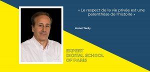 Lionel Tardy professeur à DSP nous interroge sur le paradoxe entre données personnelles et confidentialité à l'heure des objets connectés
