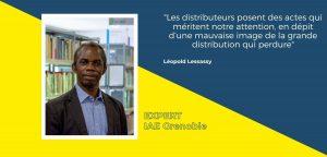 Léopold Lessassy remarque que l'on peut reconnaître que les distributeurs font plus que suivre les tendances en matière d'emballage