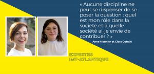 Sobriété numérique, comprendre, s'orienter, s'engager : le regard du professeur Anne Monnier et de l'étudiante Clara Cutullé