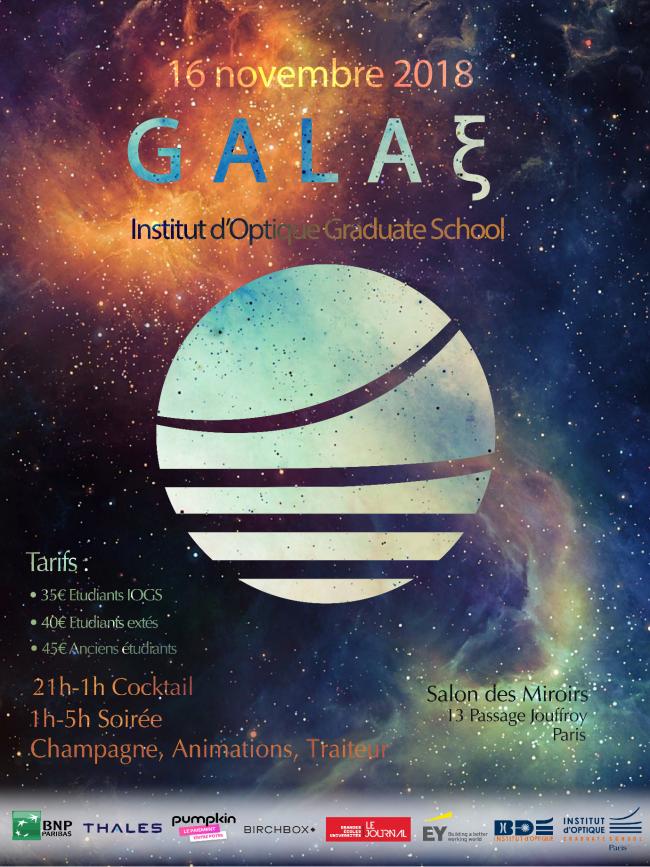 Le Gala-ξ de l'Institut d'Optique vous met des étoiles plein les yeux …