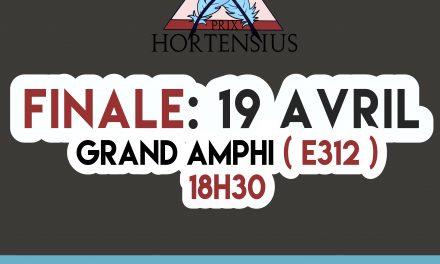 Prix Hortensius : le coup d'envoi est donné par LA PNYX
