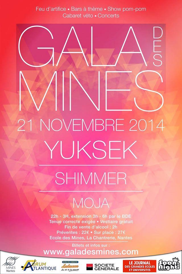 Viens faire le tour du monde au Gala des Mines de Nantes 2014