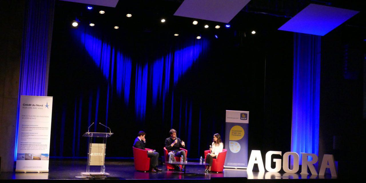 La tribune étudiante AGORA reçoit Yannick Agnel