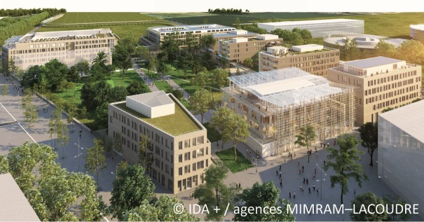 La réalisation du campus d'AgroParisTech et de l'Inra à Saclay prend forme