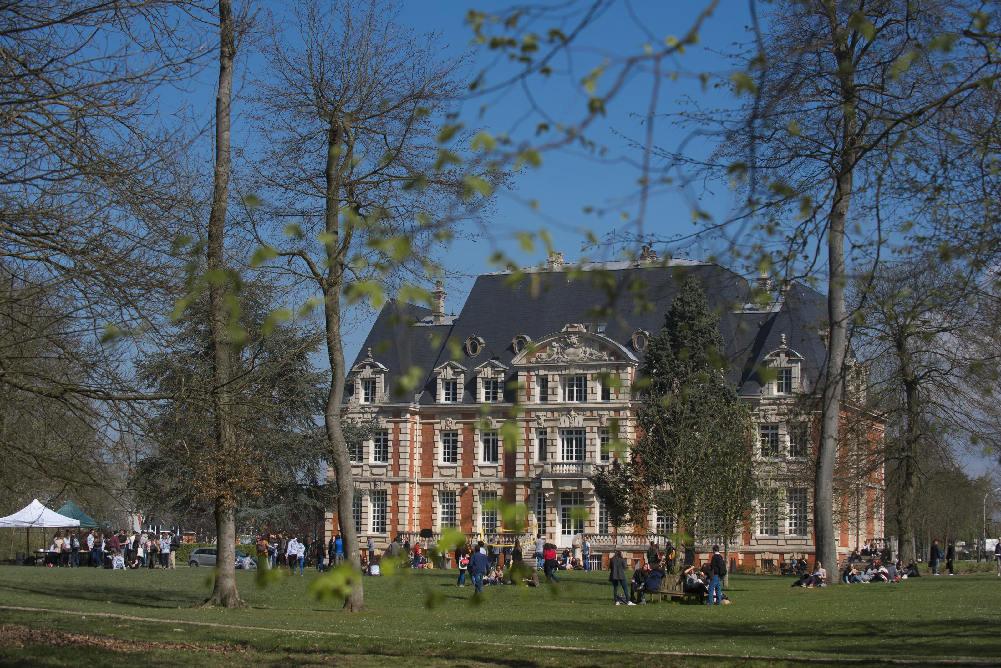 Campus de Rouen NEOMA © JF Lange