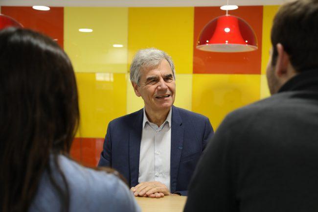 Mon petit-dej' avec le boss – Jean-Philippe Ammeux, directeur de l'IÉSEG