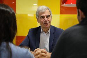 Jean-Philippe Ammeux, directeur de l'IESEG, une grande école des Hauts-de-France
