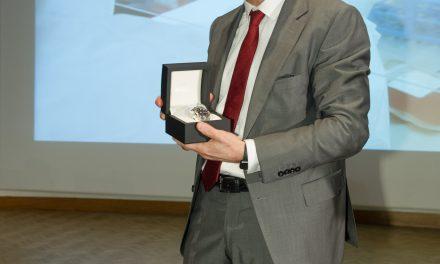 André Choulika: lauréat du prix Marius Lavet 2017