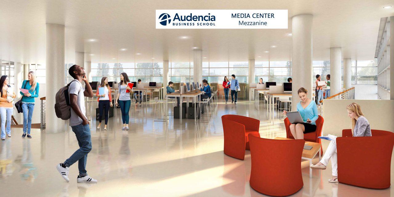 Audencia Business School lance des travaux de rénovation-extension de son site historique nantais