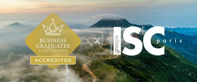 Le groupe ISC Paris décroche l'accréditation internationale BGA