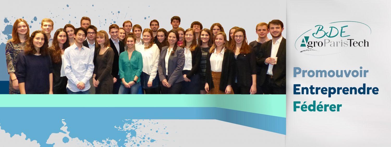Equipe BDE AgroParisTech 2016