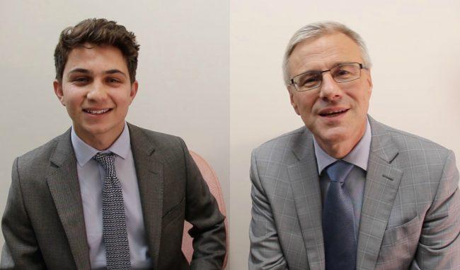 CEO For One Month : un Centralien aux côtés d'Alain Dehaze chez Adecco Group Monde
