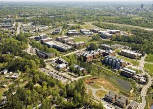 Le Centennial Campus de Raleigh où est établi le campus américain de SKEMA