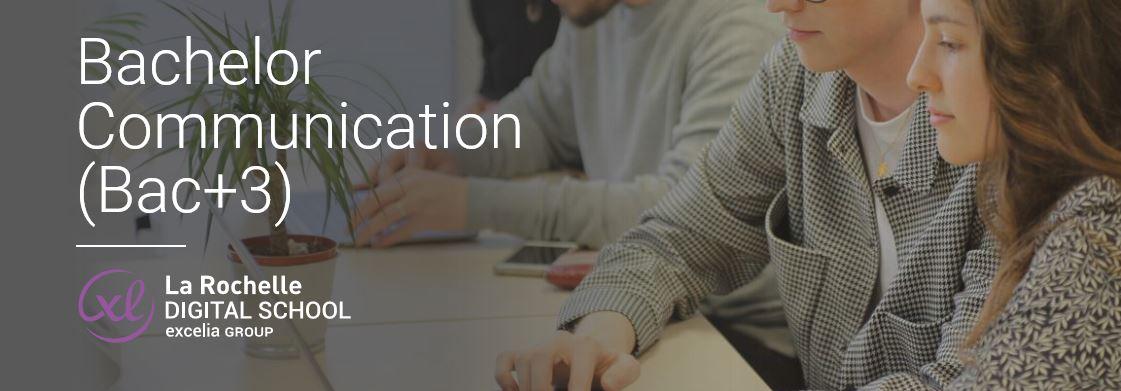 La Rochelle Digital School – Excelia Group ouvre un Bachelor Communication en partenariat avec l'Institut Supérieur des médias de Paris