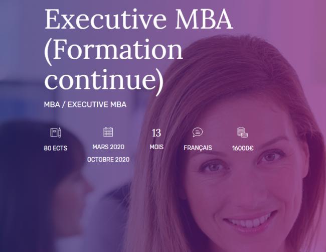 Rentrée de mars 2020 : EDC Paris Business School ouvre un Executive MBA