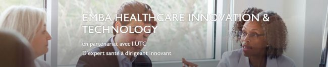 L'EDHEC lance un Executive MBA Healthcare Innovation & Technology en partenariat avec UTC