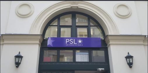 Nominations vice-présidences de l'Université PSL :  Coralie Chevallier, Rémi Carminati, et Cédric Denis-Rémis