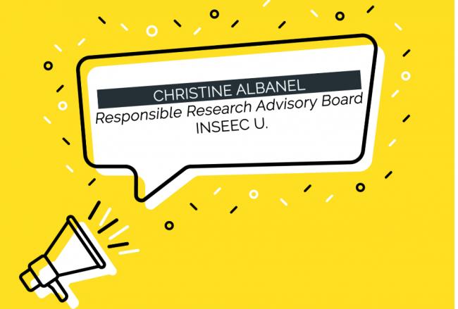 INSEEC U. : Christine Albanel, présidente du Responsible Research advisory board