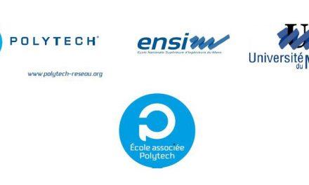 L'ENSIM, l'école d'ingénieurs de l'Université du Maine devient la deuxième « école associée » du réseau Polytech