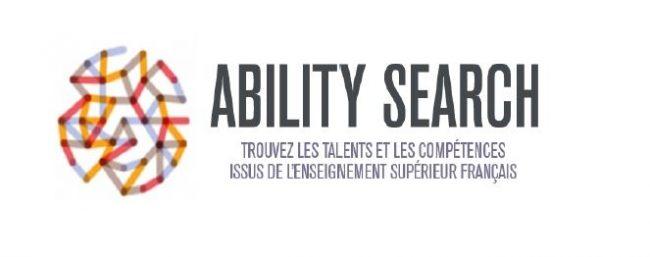 Lancement d'ABILITY SEARCH: La 1ere plateforme internationale de recherche de talents et compétences issus de l'enseignement supérieur français