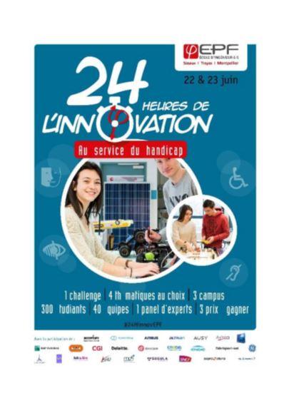 2ème édition du Challenge EPF '24h de l'innovation au service du handicap'