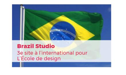 Un 3e site international au Brésil pour L'École de design Nantes Atlantique