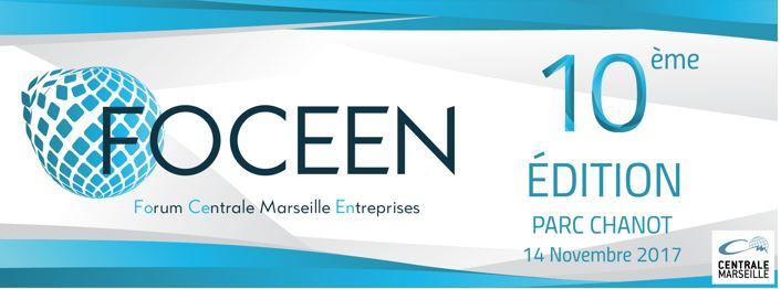 Le forum FOCEEN (Forum Centrale Marseille Entreprises) revient cette année le 14 novembre au Parc Chanot !