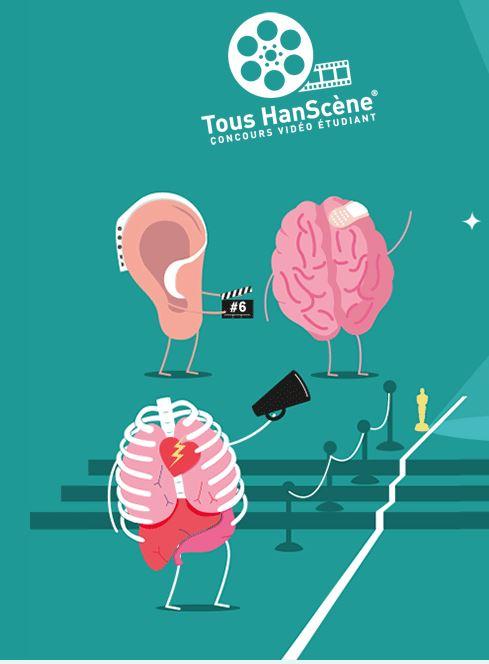 """Tous HanScène® Le premier concours """"Vidéo Handicap"""" ouvert aux étudiants"""