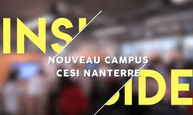 [VIDEO] Inside Nouveau Campus CESI Nanterre