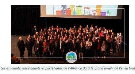 Le premier « HACKATHON Citylab » DE L'Alliance Centrale-Audencia-Ensa Nantes produit 10 INITIATIVES pour mieux vivre la ville