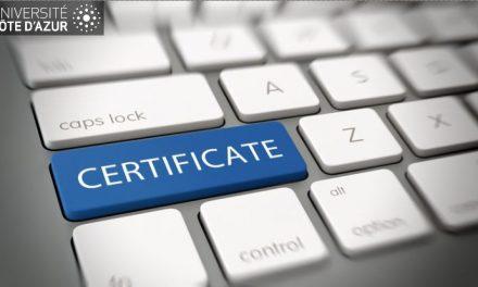 Université Côte d'Azur se lance dans la certification numérique de ses diplômes et attestations