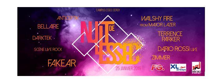 La Nuit de l'ESSEC revient le 25 janvier 2019 pour une nouvelle soirée mémorable