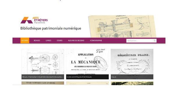 Arts et Métiers met en ligne sa bibliothèque numérique patrimoniale issue de ses fonds anciens