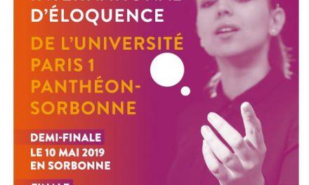 Le Concours international d'éloquence de Paris 1 Panthéon-Sorbonne réunit les cinq continents au Panthéon