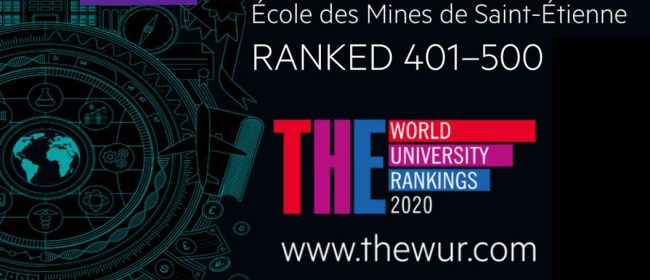 Mines Saint-Etienne intègre le classement international du Times Higher Education