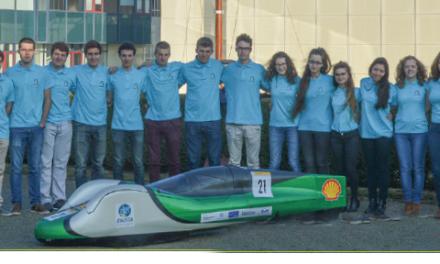 Le Team ENSTA Bretagne parcourt 860 km avec 1 litre d'essence !