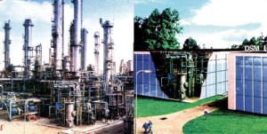 Usine conventionnelle / Usine du futur - Economies de 30% (matières premières, énergies, coûts d'installation et opératoires)