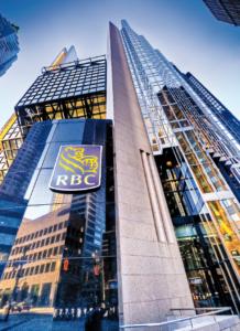 Une des tours RBC à Toronto